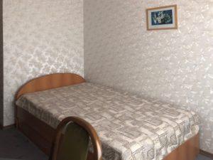 Кровать в номере Стандарт
